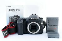 Canon EOS 30D 8.2MP Digital SLR Camera Black Body from Japan FreeShipping#530310