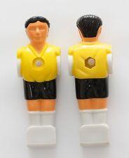 Kickerfigur Kicker Figur für 16mm Stange Tischfussballspieler gelb/ schwarz 11x