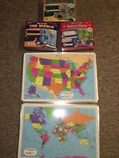 Lakeshore Grab & Play Game Lot (BRAND NEW - Never Used) Geography - Elementary