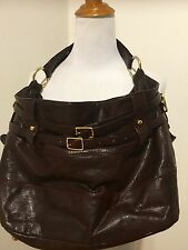 rebecca minkoff devote hobo maroon red shoulderbag purse handbag