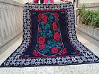 Vintage 2000 Handmade Moroccan Azilal Berber Rug Beni Ourain Tribal Carpet