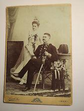 Wien - Hochzeit Rosa Gruber & Soldat Franz in Uniform mit Orden Säbel / KAB