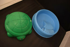 Turtle Sandbox & Pool For Little Tikes 1980's-1990's Dollhouse