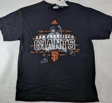 LZ Adidas Youth Size M 10/12 San Francisco Giants MLB T-Shirt Tee Shirt NEW J41