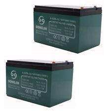 2pcs 6-DZM-12 Rechargeable Battery for ATV Scooter GO Kart Razor E 300 E90 za