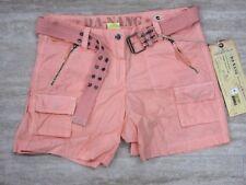 NEW Da-Nang Surplus Women's Short Belted Pockets DRYROSE HPG5391 SMALL S