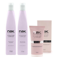 NAK Structure Complex TRIO PACK - Shampoo + Conditioner + No. 3 Bond Enhancer