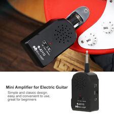 Portable High Fidelity Mini Electric Guitar Amplifier Amp Loudspeaker+Earphone