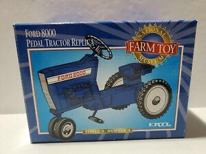 Ford 8000 Pedal Tractor Replica NIB NFTM