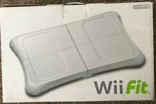 WII FIT BALANCE BOARD - BOXED & WITH WII FIT GAME DISC