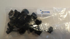 Heyco 6N3-4 Cable Bushing / Wire Strain Relief NEW Bag of 10 Free Shipping!