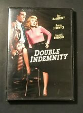 Double Indemnity (Dvd, 1944) Fred MacMurray, Barbara Stanwyck, Film-Noir - New