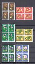 SIERRA LEONE 1963 SG 242/54 MNH Blocks of 4 Cat £56