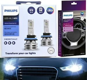Philips Ultinon LED G2 Canceller H11 Two Bulbs Head Light Upgrade Replacement