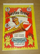 TASTEE-FREEZ FUN AND GAME BOOK VF (8.0) HARVEY COMICS UNLISTED VERY RARE