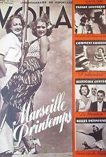 REPORTAGES PHOTOS VOILA 1940 RINA KETTY PATIN à ROULETTES MARSEILLE DIGNIMONT