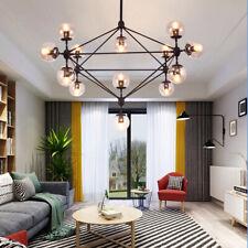 New Listing15 Light Glass Pendant Chandelier Ceiling Living Dining Room Globe Fixture Home