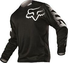 Fox Racing Blackout Riding Jersey Black Adult MX/ATV/BMX/MTB Dirt Bike Off Road