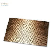 Kupfer-Platine 160x100mm, Streifenraster RM 2,54mm, Kupferplatine, PCB Streifen