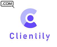 Clientily .com - Brandable Domain Name for sale - CLIENT TEAM SAAS DOMAIN NAME