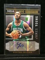 F7834  2014-15 Hoops Hot Signatures #80 James Young AUTO