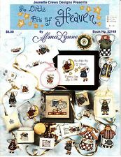 A Little Bit of Heaven by Alma Lynne (1998, Cross-Stitch Booklet)