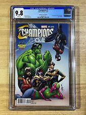 Champions #1 (2016 Marvel Comics) J Scott Campbell Variant CGC 9.8