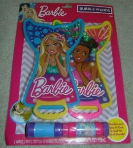~NEW Girls BARBIE Dreamtopia Big Bubble Wands! Super Cute!! FS:)~