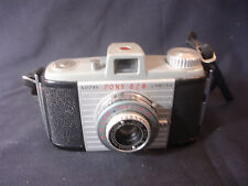 Old Vtg Kodak Pony 828 Flash 200 Shutter Camera Photography With Leather Case