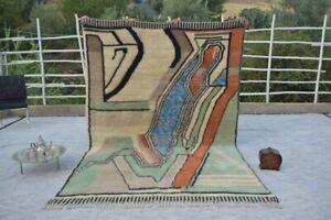 Moroccan Rug Beni Ourain rug Teppich Area rug Modern rug 100% wool handmade rugs