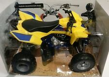 NEW RAY 1:12 DIE CAST QUAD  SUZUKI QUADRACER R450  ART 57503