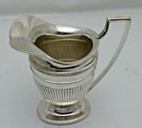 Antique Dutch Sterling Solid Silver Helmet Cream Jug Creamer (1787/9/ANY)