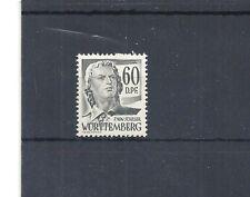 Französiche Zone, Württemberg, 1948 Michelnr: 25 **, postfrisch, Michelwert € 15