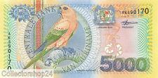 Suriname 5000 Gulden 2000 Unc Pn 152