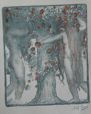 Abel Pann Lithographie Genesis Bible Judaïca Jewish Art juif Israël Palestine 1