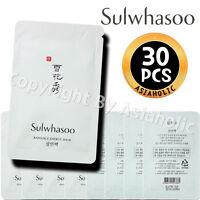Sulwhasoo Radiance Energy Mask 5ml x 30pcs (150ml) Sample AMORE Newist Version