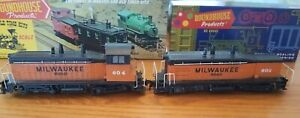 Athearn HO – Milwaukee Road Dummy Diesels #604 and #603