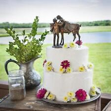 Big Sky Carvers Prairie Rose Wedding Cake Topper Western Cowboy Cowgirl Bride
