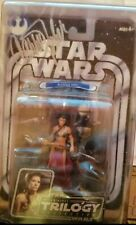 Signed OTC Star Wars Original Trilogy Collection Leia As Slave 33 Action Figure