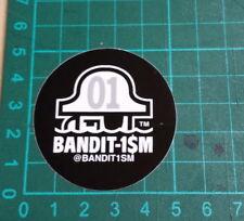 BANDIT1SM STICKER-123 Klan-Bandit1$M- 5x5cm-STREET ART-PEGATINA-DECAL- GRAFFITI