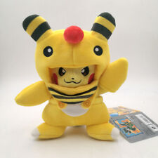 Cosplay Pikachu Ampharos Suit Pokemon Denryu Plush Toy Stuffed Animal Figure 8""