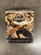 Jurassic Park 25th Anniversary Collection - Limited Edition (4K Uhd + Blu-ray)