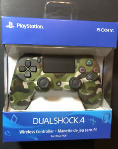 Official Sony PS4 DualShock 4 Wireless Controller V2 [ Green Camouflage ] NEW