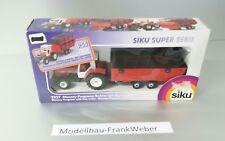 2227 Massey Ferguson Traktor mit Heuwagen  1:55  Siku 1 :  55 Super 1/55