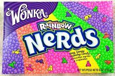 1 X Wonka Rainbow Nerds 141g Box Retro Sweets