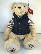 "New w Tag FAO SCWARZ - Collectible Embroidered 19"" Plush Stuffed Teddy Bear"