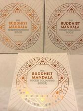Buddhist Mandala Colouring Book Calm Gift Anxiety Stress Symptom Relief Reliever