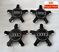 Centro De Rueda De Aleación 4x Audi Tapas Star 135MM insignias 4F0601165N A3 A4 A5 A6 A7 A8