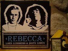 LARS LUNDBERG & MATS LODEN Rebecca LP/1974-1976 Sweden/Psych Rock/SHADOKS