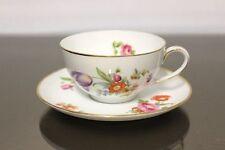 Rosenthal Balmoral Deutsche Blume bunt Teetasse+ Untere